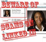 scams on linked
